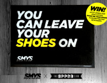 GEWINNSPIEL! You can leave your Shoes on